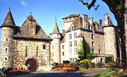 Le château de Pesteils à Polminhac