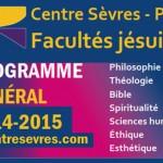 Programme 2014-2015 du Centre Sèvres