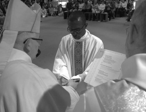 Ordination diaconale et presbytérale – Eglise Saint-Ignace – Paris – 22 avril 2017 – Noir&Blanc