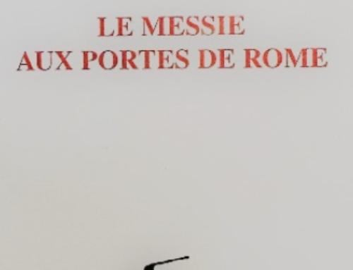 Le Messie aux portes de Rome, du P. Jean-Pierre Sonnet sj