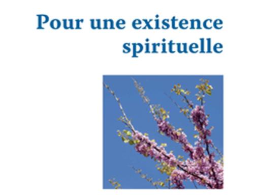 Pour une existence spirituelle, du P. Henri Laux sj