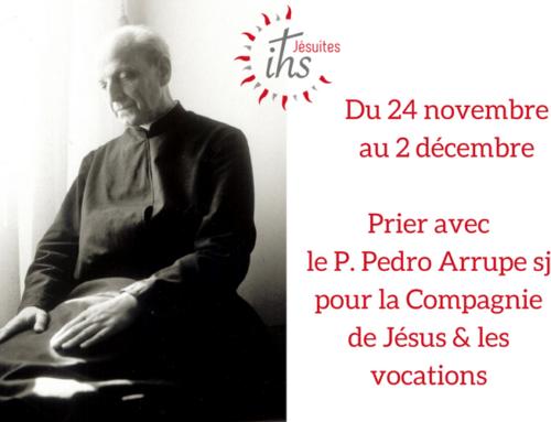 Neuvaine de prière pour la Compagnie et les vocations du 24 novembre au 2 décembre