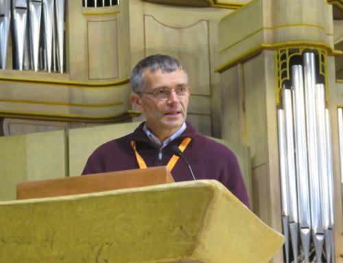 P. Etienne Grieu sj à l'Université de la Solidarité et de la Diaconie à Lourdes : «Elle a senti l'odeur et la présence de Jésus»