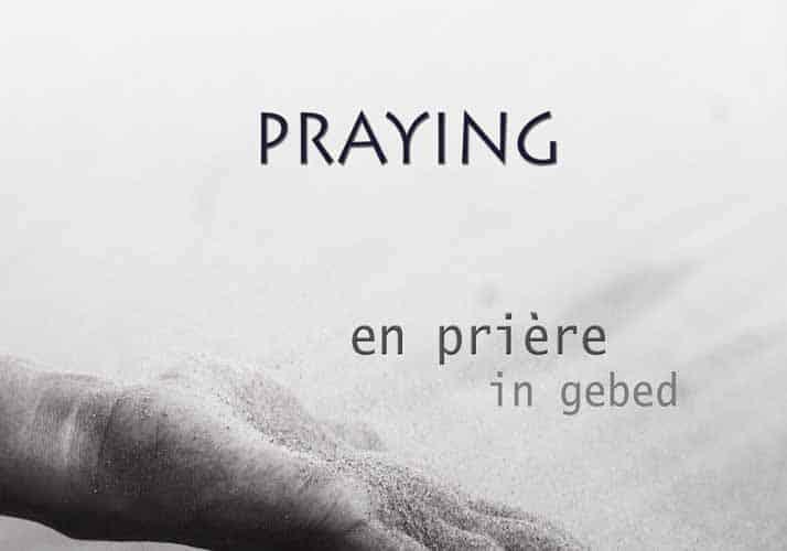 «La prière» : Concours-photo proposé par la Chapelle pour l'Europe