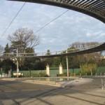 L'arrêt du tram