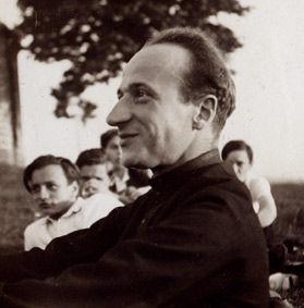 Le Père Varillon, professeur de philosophie au collège Notre-Dame de Mongré 1931-1932 - Photographie de M.Pierre Ducruet