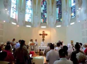 Célébration de la fête de Saint Ignace avec les amis de la famille ignatienne, le 31 juillet