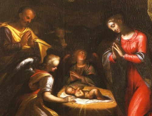 La petite Nativité de la Curie Générale à Rome
