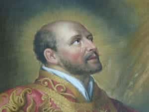Naissance d'Iñigo au chateau de Loyola