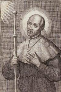 Ignace quitte Loyola pour un pèlerinage en habit de chevalier pour Montserrat.