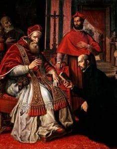 Paul III approuve la Compagnie de Jésus comme un ordre religieux