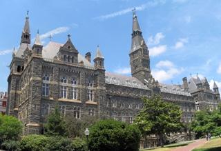 Premier élève à l'Académie de Georgetown