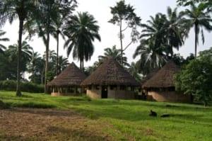 Ouverture du premier noviciat au Congo Belge avec 4 novices