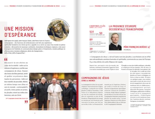 Une nouvelle brochure en 2018 pour la Province EOF