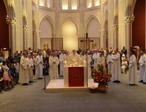 Derniers voeux de Jacques Enjalbert, Xavier Roger et Guilhem Causse – Eglise Saint Ignace à Paris – 21/05/2018