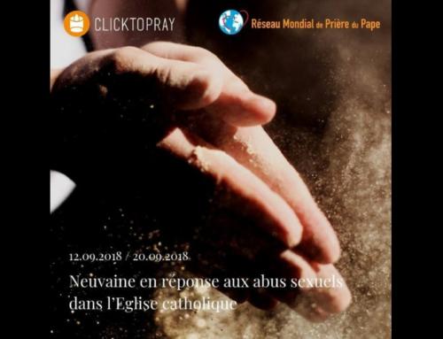 Une neuvaine de prière avec Click To Pray, pour les victimes d'abus sexuels, priant avec le Pape et l'Eglise.