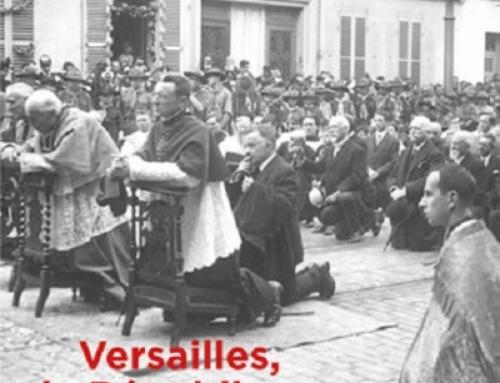"""""""Versailles, la République et la Nation : une topologie politique"""" du P. Benoît Vermander sj"""