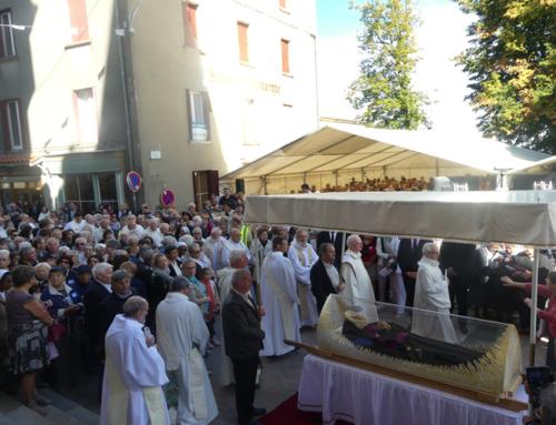 Sainte Thérèse Couderc a rejoint la basilique Saint Régis à Lalouvesc