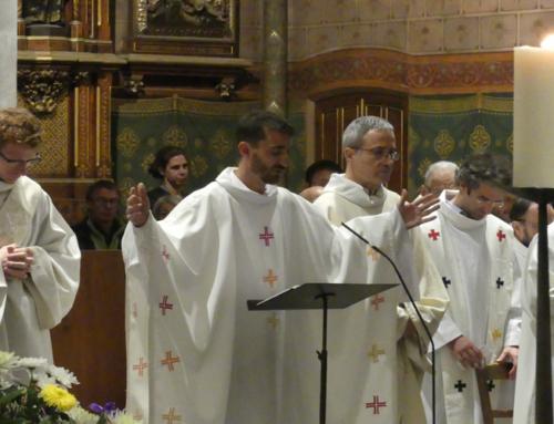 Ordination sacerdotale et première messe de Vincent de Beaucoudrey