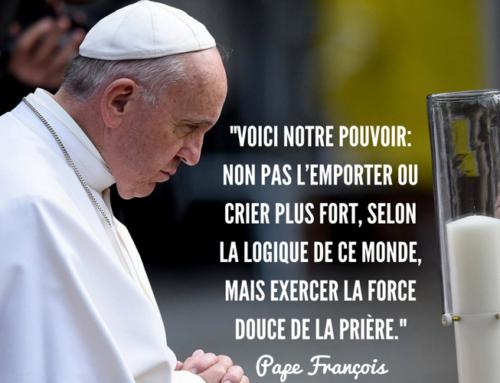 Le pape demande au Réseau Mondial de Prière d'aider tous les fidèles à prier davantage en octobre