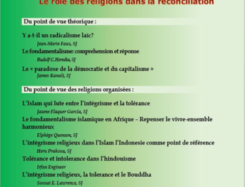 """Promotio Iustitiae n° 126, 2018/2 sur le """"Fondamentalisme : Le rôle des religions dans la réconciliation"""