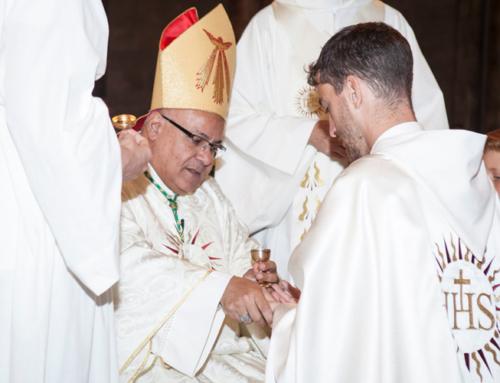 Ordination sacerdotale de Vincent de Beaucoudray à Beyrouth