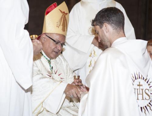 Ordination sacerdotale de Vincent de Beaucoudrey en l'église Saint-Joseph des jésuites à Beyrouth – 31/10/2018