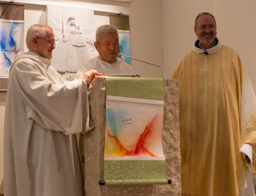 Kim En Joong, artiste et père dominicain, expose ses oeuvres à la Chapelle du Christ-Roi à Luxembourg