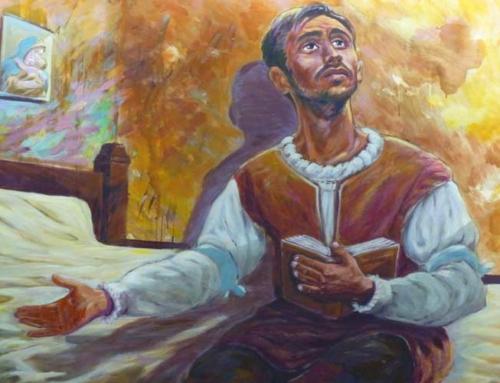 Un tableau de saint Ignace de Loyola offert aux étudiants du Centre Laennec Paris