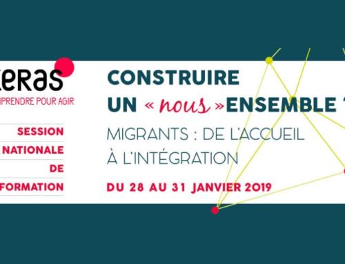 """""""4 jours pour réfléchir et questionner le difficile, mais nécessaire, passage de l'accueil d'urgence à l'intégration"""" : interview du P. Marcel Rémon sj, sur la session du CERAS"""