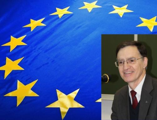 """""""S'engager pour l'Europe quand on est chrétien?"""" Éclairage du P. Thierry Lievens sj, Président de l'IET à Bruxelles"""