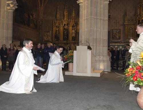 Derniers vœux du P. Grégoire Le Bel sj et du P. Olivier Paramelle sj en l'église Saint-Ignace à Paris – 02/02/2019