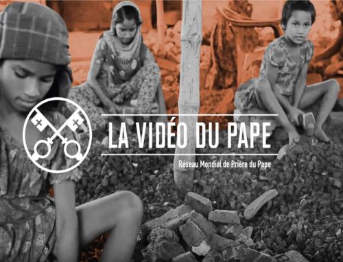La Vidéo du Pape – Février 2019 – Prier pour l'accueil généreux des victimes de la traite des personnes, de la prostitution forcée et de la violence.