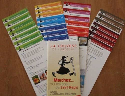 28 fiches pour entrer dans l'expérience d'Ignace – Une initiative du sanctuaire de Lalouvesc
