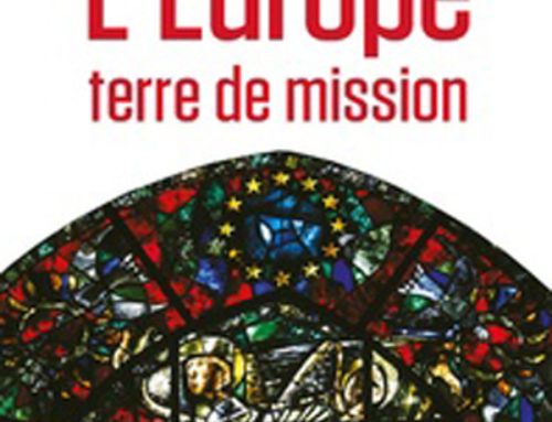 L'Europe, terre de mission, du P. Christoph Theobald sj