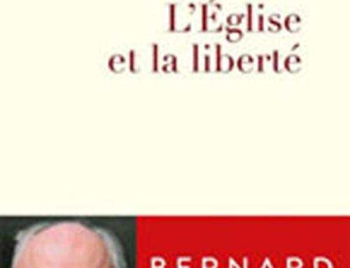 L´Église et la liberté, du P. Bernard Sesboüé sj