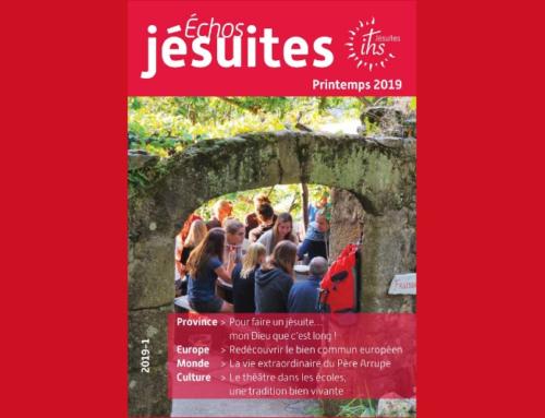 Nouveau numéro d'Échos jésuites : le printemps sera européen… et jésuite !