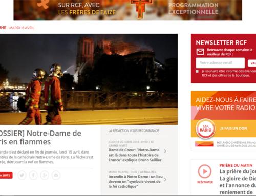 """""""Notre-Dame de Paris"""" : chronique du P. Charles Delhez sj"""