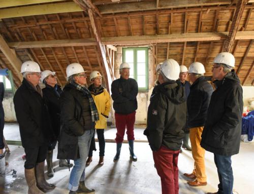 Point d'étape sur la rénovation du Centre spirituel de Penboc'h