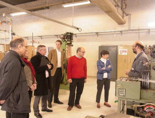 Visite-découverte des écoles jésuites à Saint-Etienne pour les mécènes de Loyola Formation
