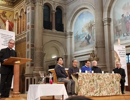 Retour sur la rencontre à Paris à l'occasion des 400 ans de la béatification de Saint François-Xavier