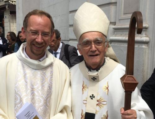 Hervé Nicq ordonné prêtre en l'église Saint-Ferréol à Marseille