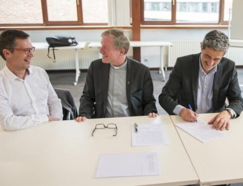 La Compagnie de Jésus et l'Université de Namur signent une nouvelle déclaration d'engagement