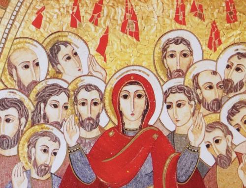 """""""Avec la Pentecôte, Jésus nous montre qu'Il ne laisse jamais ses disciples seuls ou orphelins"""", par le P. Ashok Bodana sj"""