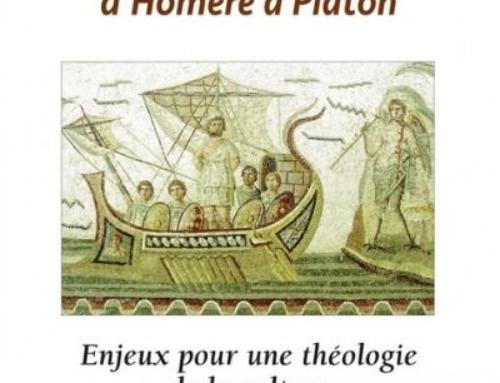 La littérature grecque d'Homère à Platon, du P. Michel Fédou sj
