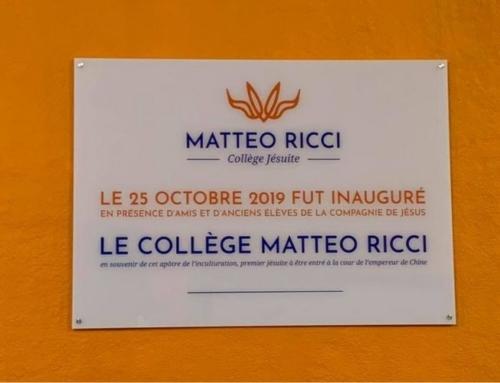 Inauguration du collège jésuite Matteo Ricci à Bruxelles