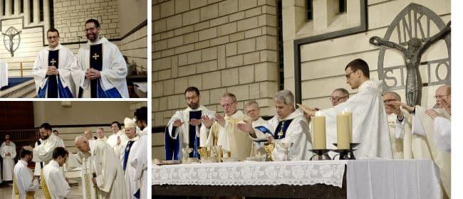 Ordinations Quentin Lamy et Gonzague Lalanne-Berdouticq